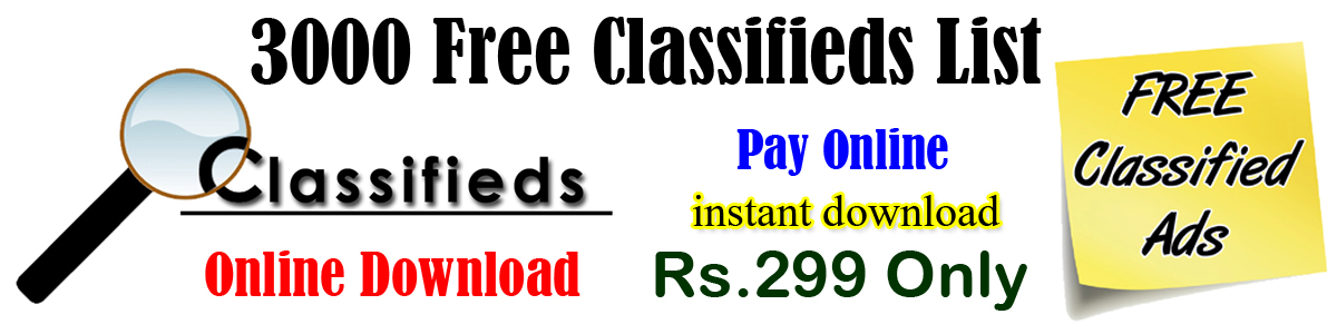 Classifieds Site List Download